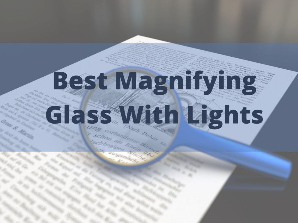 Magnifying Glass With Lights