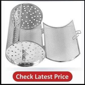 Yosoo 12x18cm Stainless Steel Oven Roast Basket