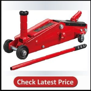 BIG RED T83006 Torin Hydraulic Trolley ServiceFloor Jack with Extra Saddle