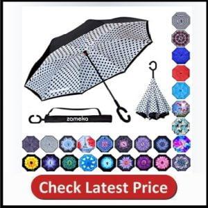 Z ZAMEKA Double Layer Inverted Umbrellas