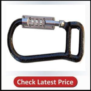 Lockstraps 801 Locking Carabiner, Black