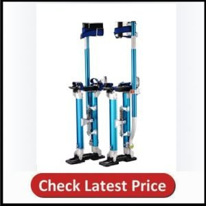 1117 Pentagon Tool Tall Guyz Professional 18-30 Blue Drywall Stilts For Sheetrock Painting or Cleaning