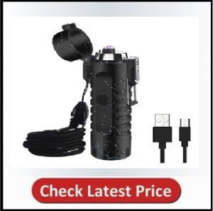 JiaDa waterproof Lighter Flashlight