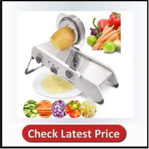 Onadrive Adjustable Mandoline Slicer