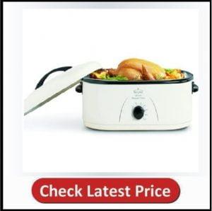 Rival Roaster Oven, 18-Quart, White