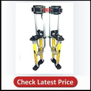 SurPro S2.1 Dual Legs Support Drywall Stilts 24-40 in. (SUR-S2-2440MP)