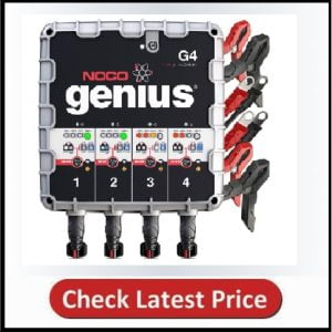 NOCO Genius G4 4-Bank Battery Charger and Maintainer