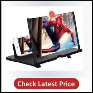 3D HD Mobile Phone Magnifier Projector Screen for Movies