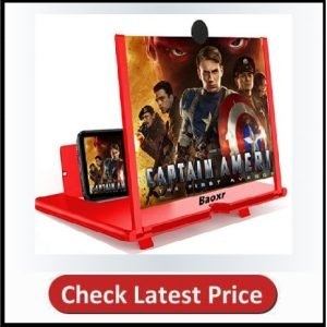 3D Screen Magnifier 12-inch HD Mobile Smartphone
