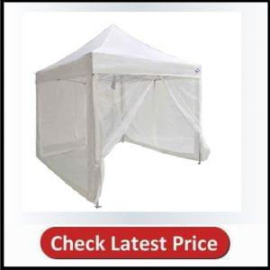 Impact Canopy Zippered Mesh Sidewalls