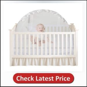 Houseables Baby Crib Safety Net