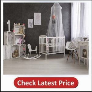 Mosquito Guard Baby Crib Netting Compatible with Baby/Toddler Cribs, Bassinets, Beds, Playpens, Cradles