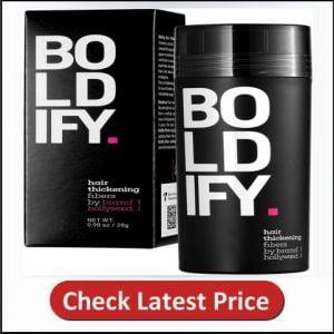 BOLDIFY Hair Fibers for Thinning Hair