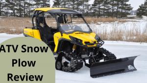 Best ATV Snow Plow Review